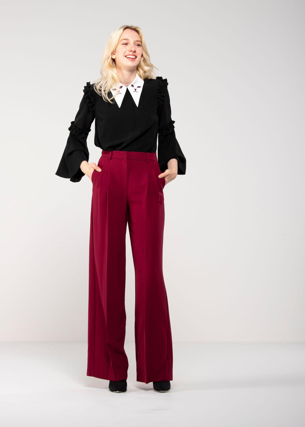 Calça Pantalona Giorgione