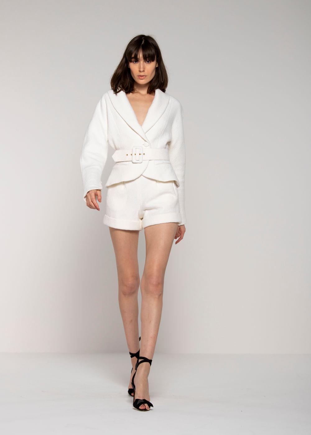Jaqueta Vida Branca M