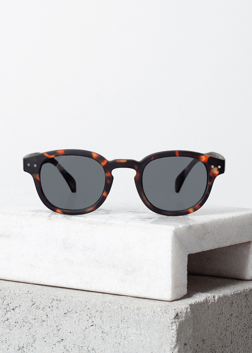 Óculos De Sol Redondo Tortoise C Tartaruga U