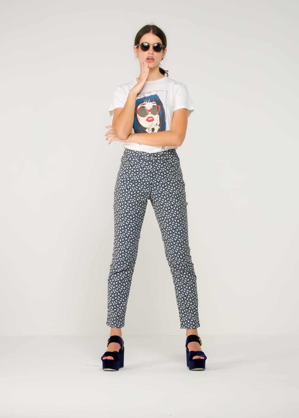 Calça Jeans Star Azul Azul P