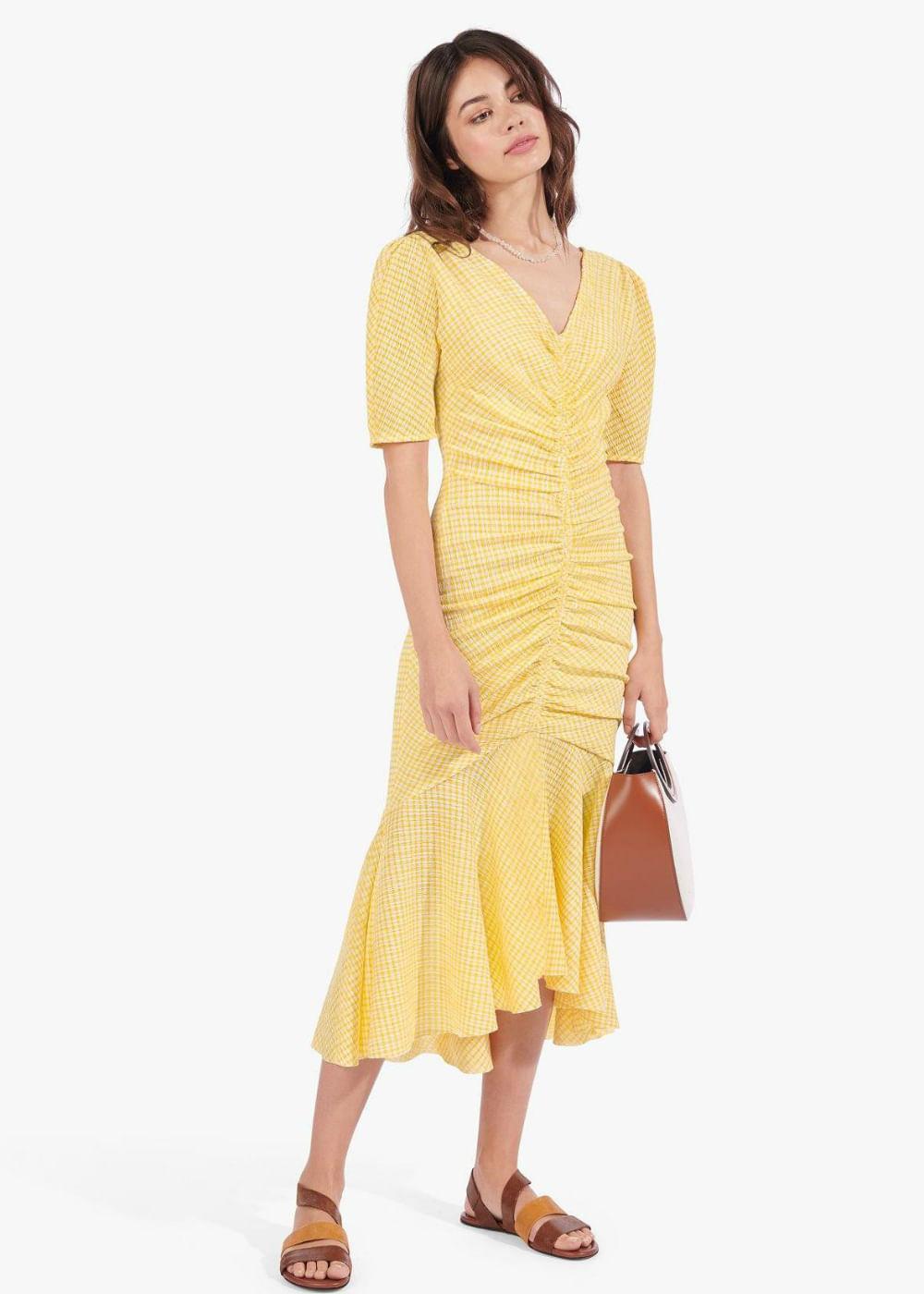 Panier-dress