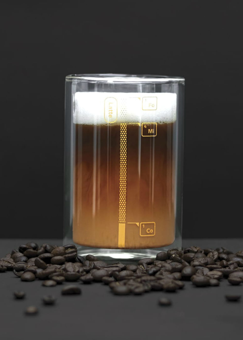 Copo De Vidro Coffee Lab Transparente U