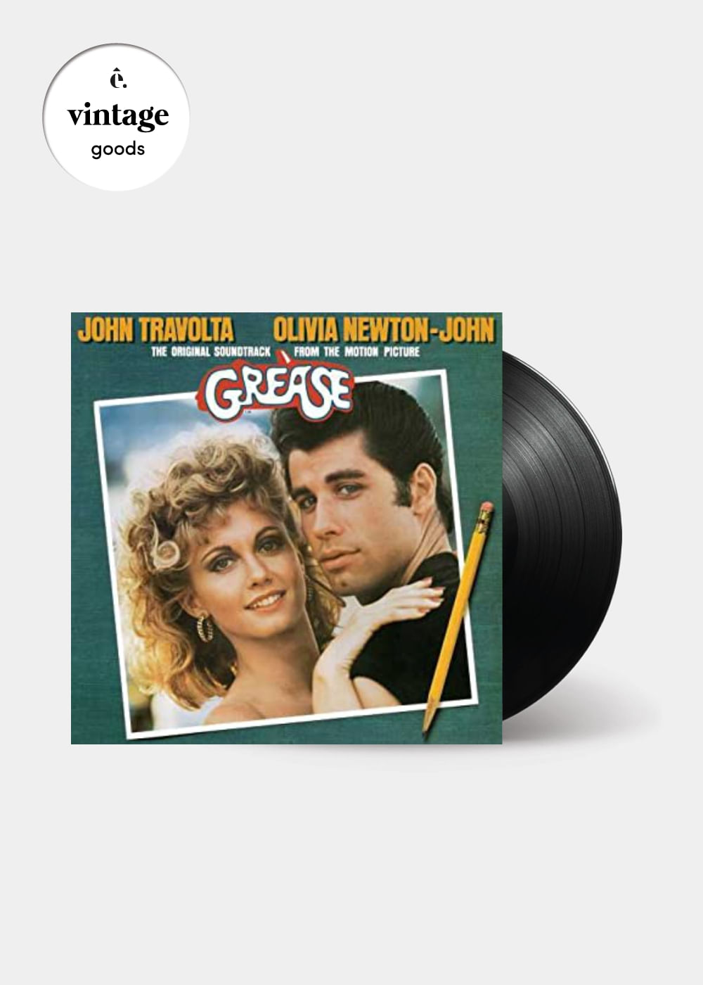 Disco-de-Vinil-Grease