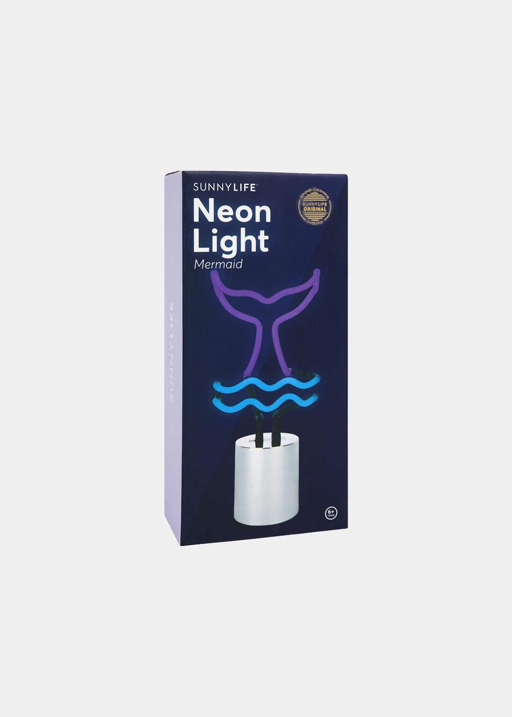 Luminaria-neon-sereia