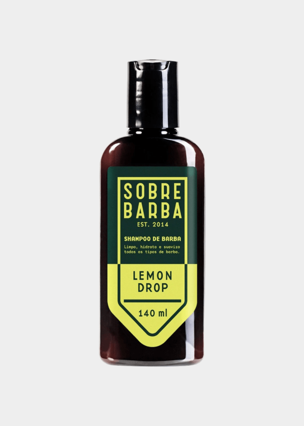 Shampoo De Barba Lemon Drop  140Ml Marrom U