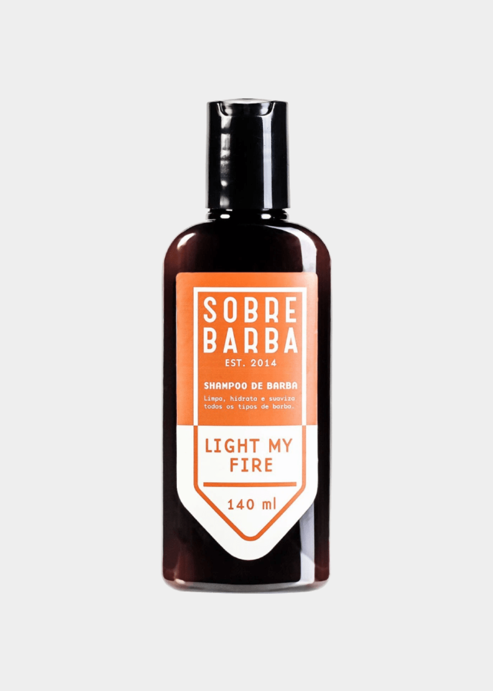 Shampoo De Barba Light My Fire  140Ml Marrom U