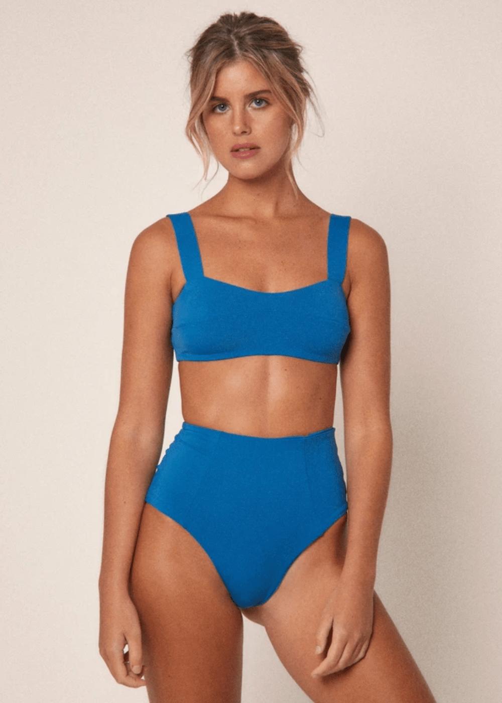 Top Lia Azul