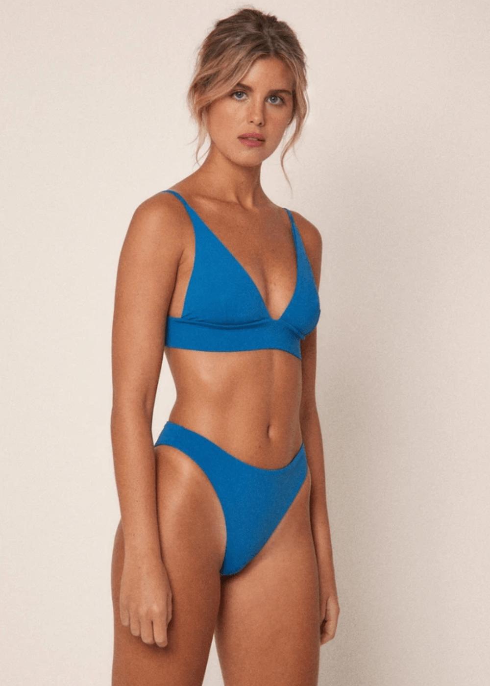 Calcinha Fox Azul