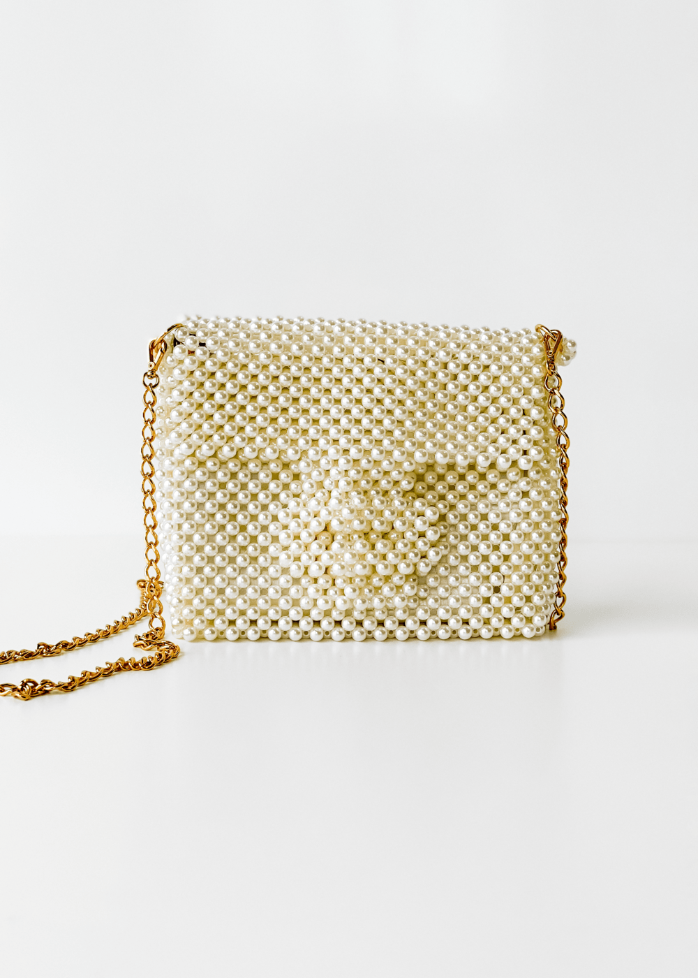 Clutch Midi Pearl Off White U