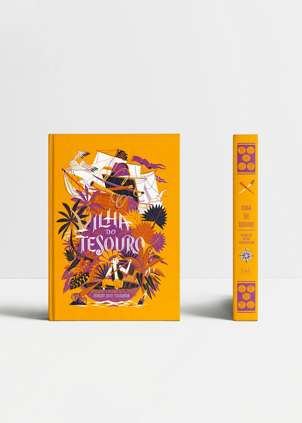 Livro: Ilha Do Tesouro Amarela U