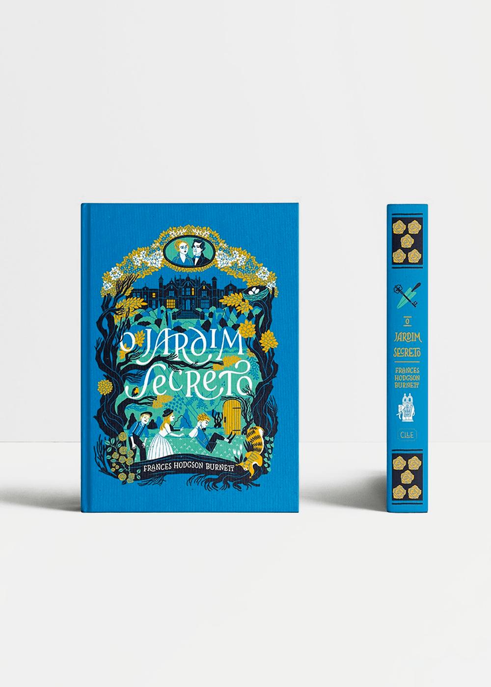 Livro: O Jardim Secreto Azul U