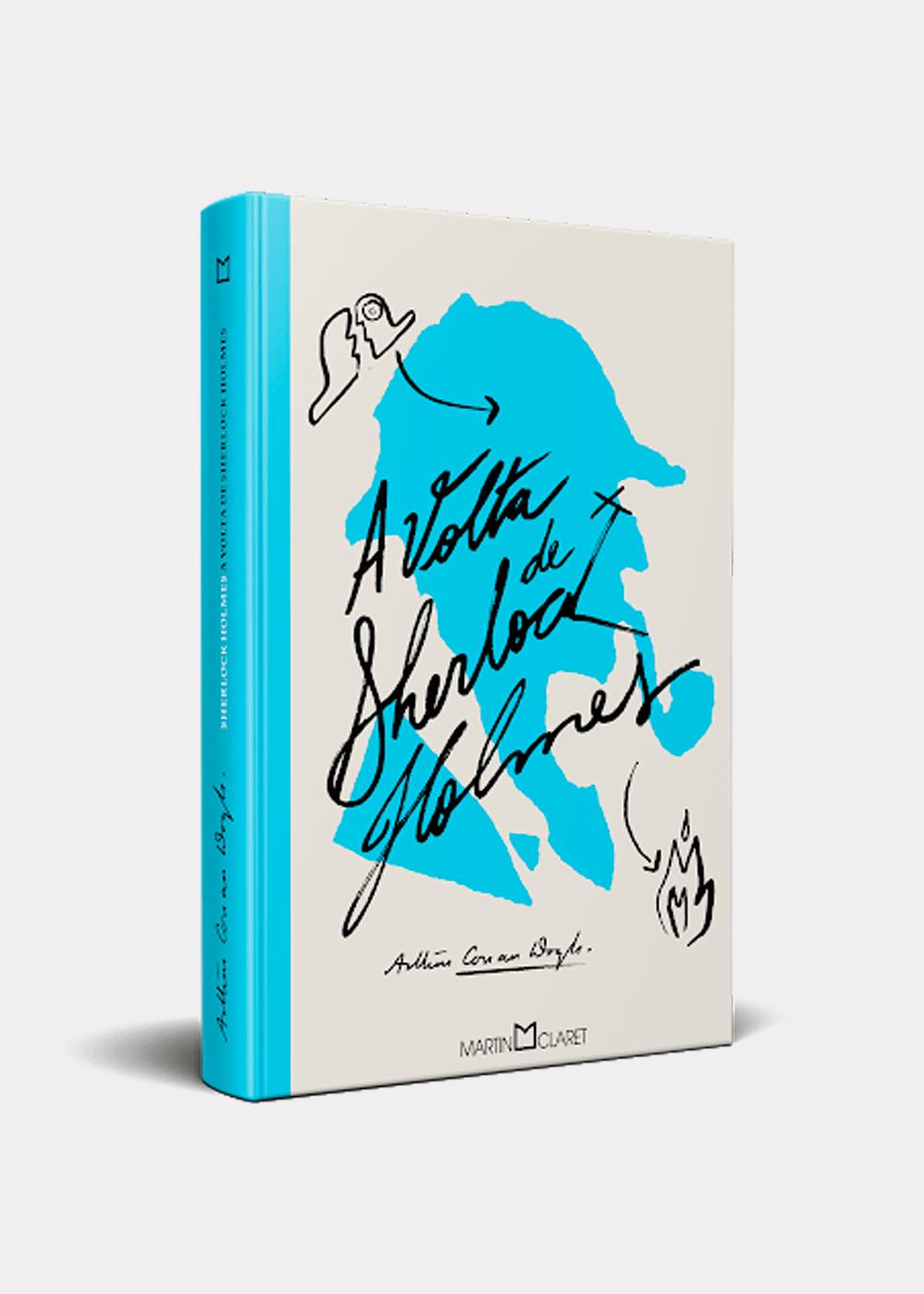 Livro: A Volta De Sherlock Holmes  Azul U
