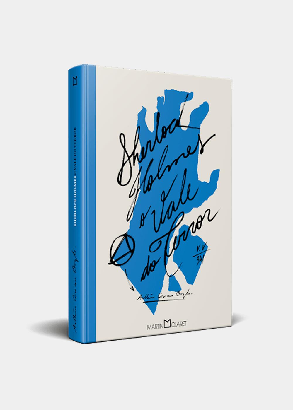 Livro: O Vale Do Terror Azul U