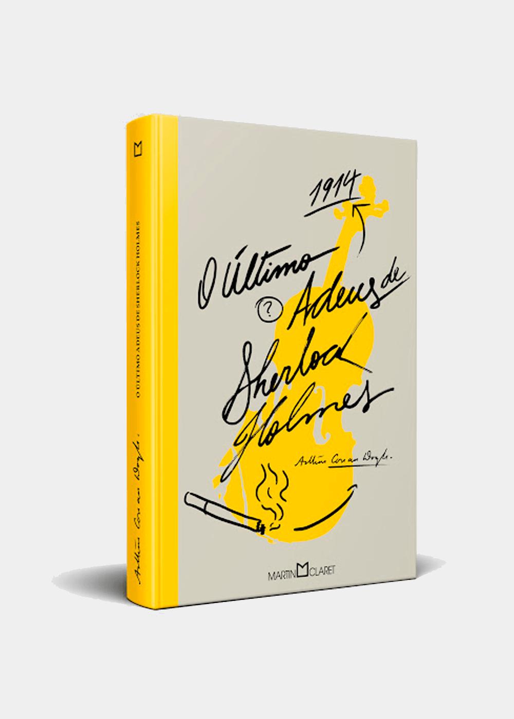 Livro: O Último Adeus De Sherlock Holmes Amarela U