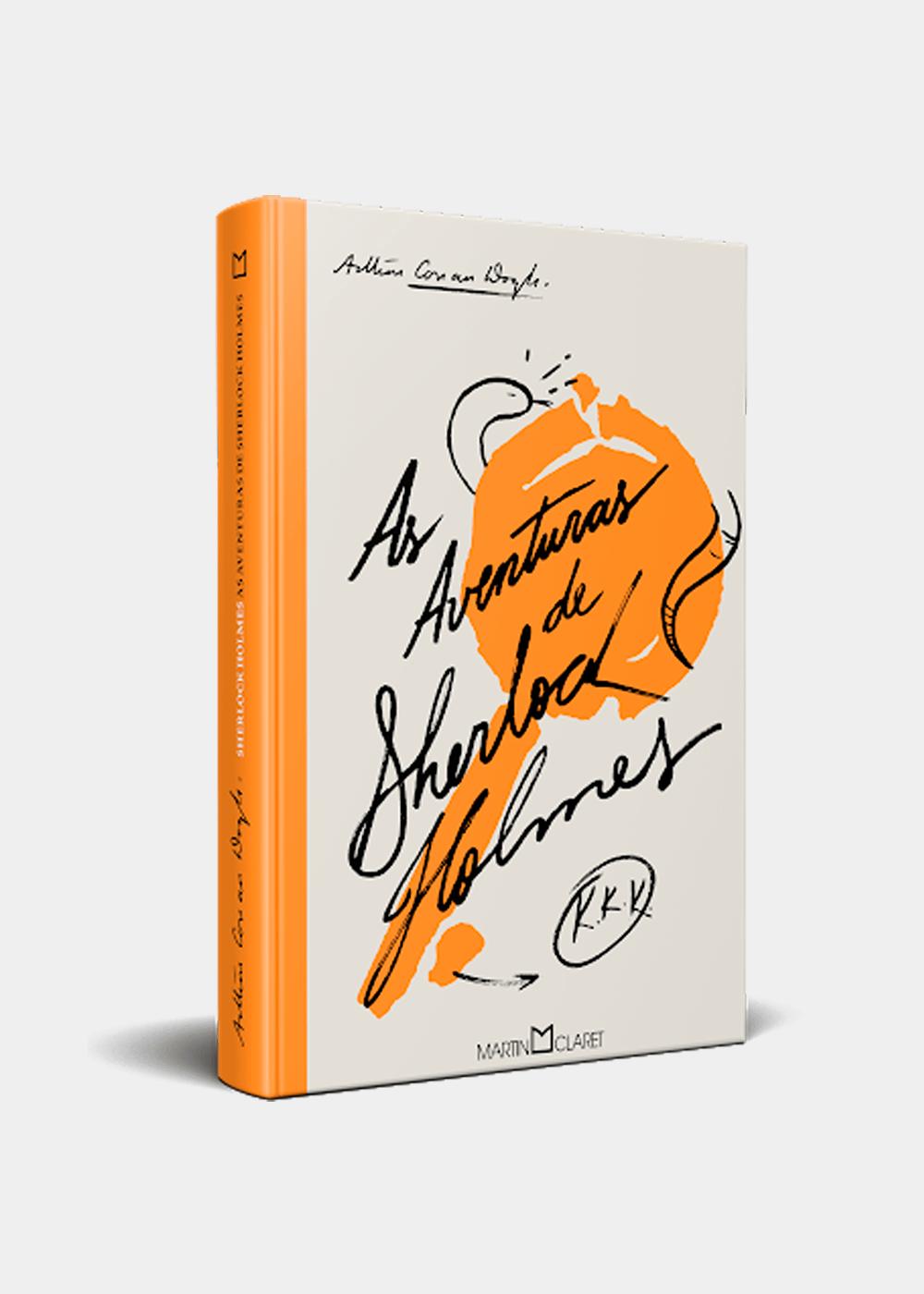 Livro: As Aventuras De Sherlock Holmes Laranja U