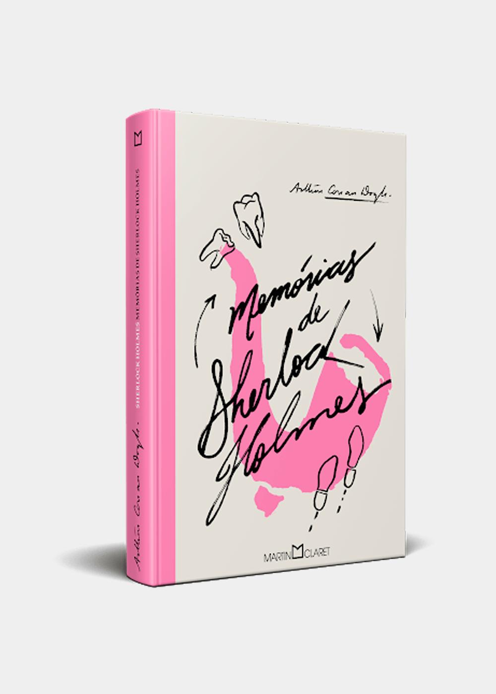 Livro: As Memórias De Sherlock Holmes Rosa U