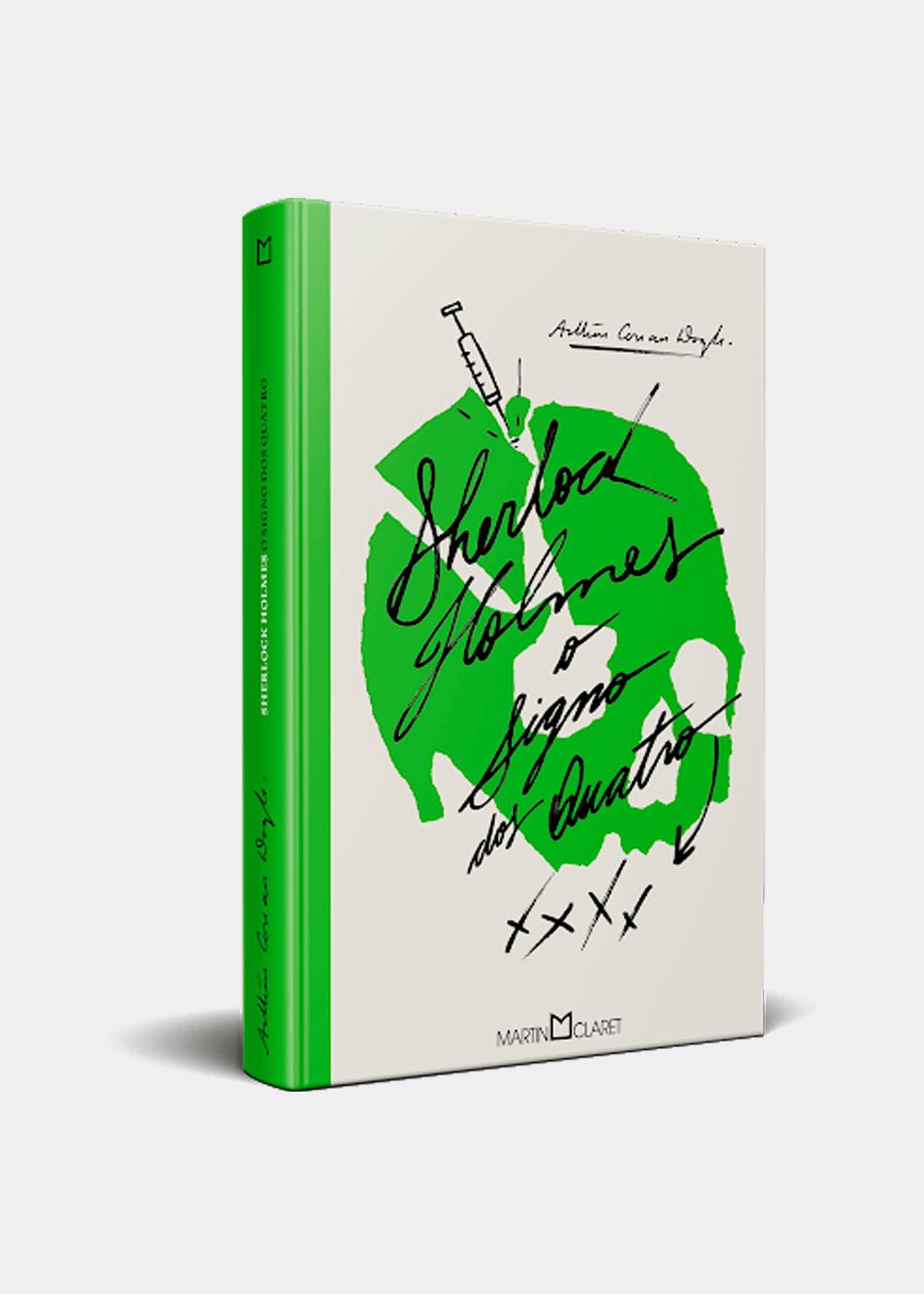 Livro: O Signo Dos Quatro Verde U