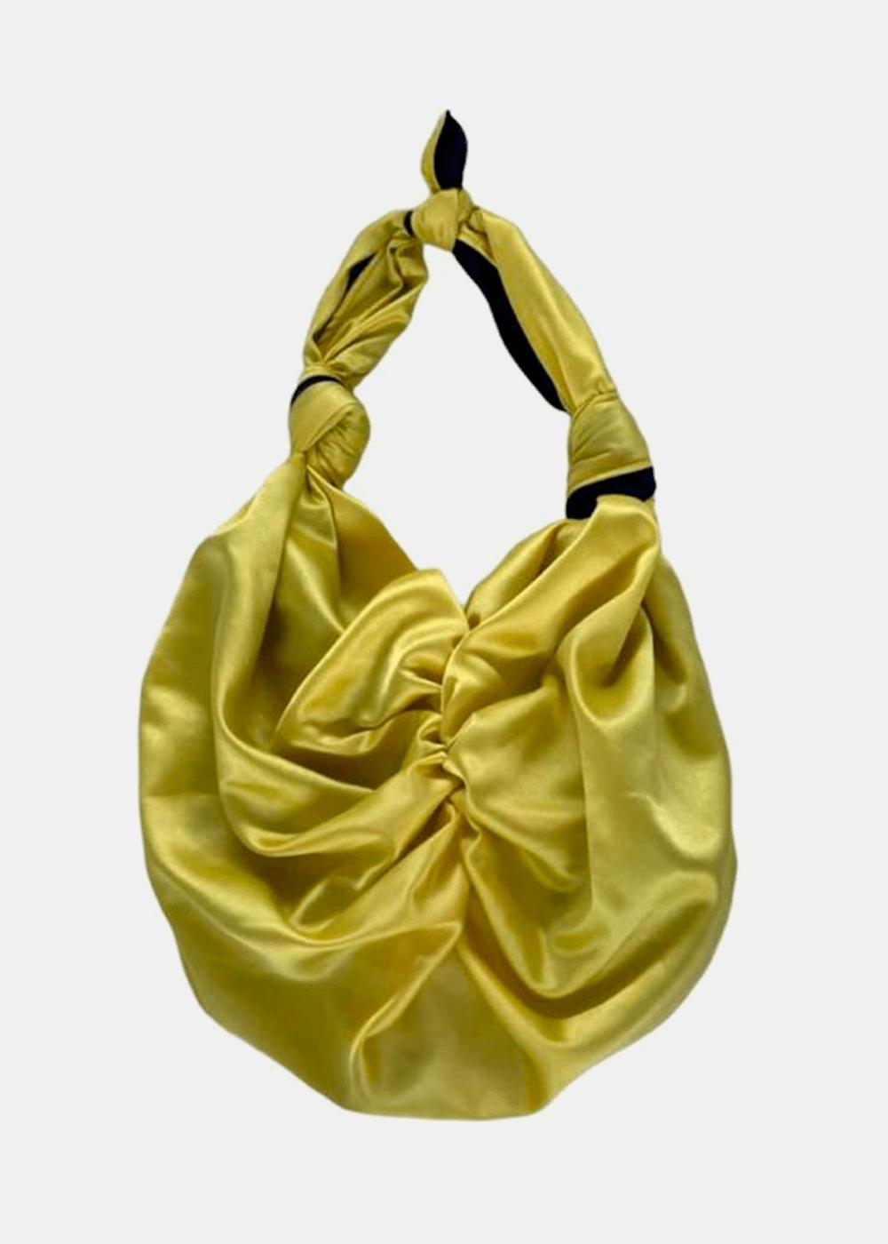 Bolsa Nara Amarelo Com Marinho Amarela U